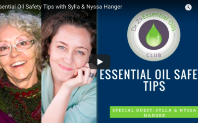 Essential Oil Safety Tips: Dr. Z with Sylla and Nyssa